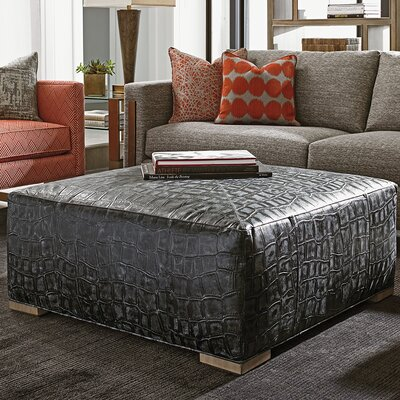 Shadow Play Melina Cocktail Leather Ottoman