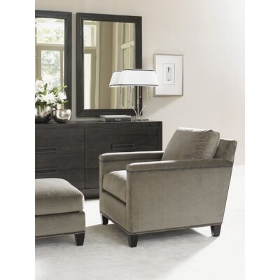 Strada Armchair and Ottoman
