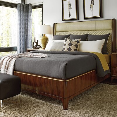 Take Five Upholstered Panel Bed Size: King