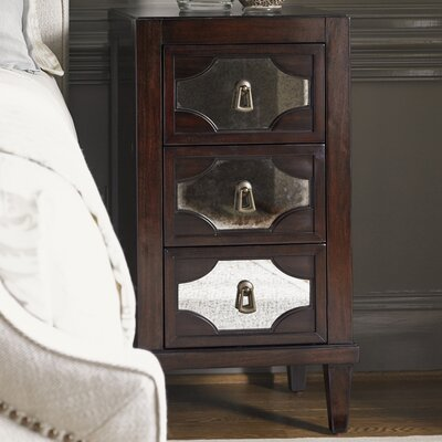 Kensington Place 3 Drawer Nightstand