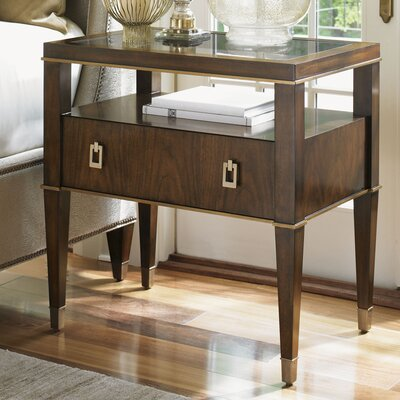 Tower Place 1 Drawer Nightstand