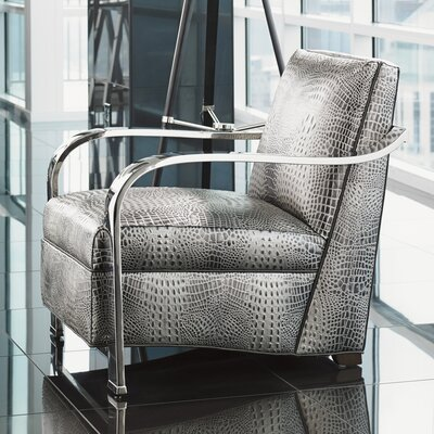 Kenilworth Armchair Color: Animal Print