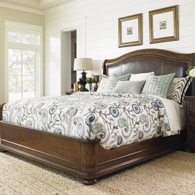 Coventry Hills Upholstered Panel Bed Size: Queen