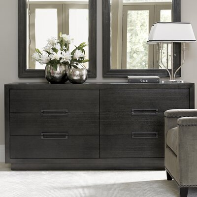 Carrera 6 Drawer Double Dresser