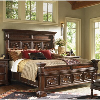 Fieldale Lodge Panel Bed Size: California King