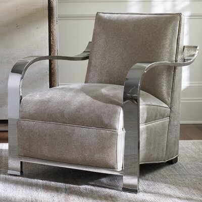 Kenilworth Arm Chair Color: Off White