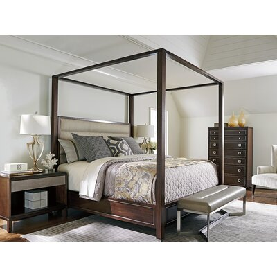 MacArthur Park Canopy Bed Configurable Bedroom Set