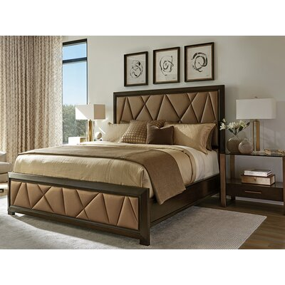 Zavala Spectrum Upholstered Platform Bed Size: California King