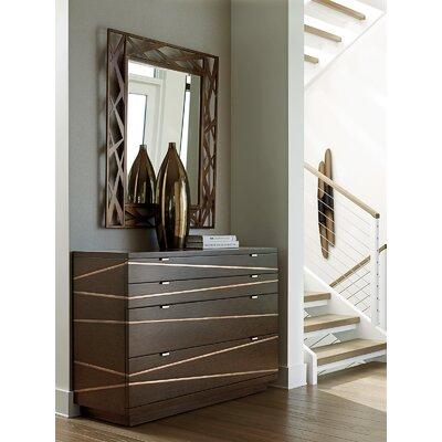 Zavala 4 Drawer Dresser with Mirror