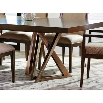 Zavala Loggia Rectangular Double Pedestal Dining Table