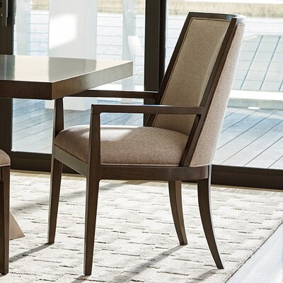 Zavala Ellipsis Upholstered Arm Chair