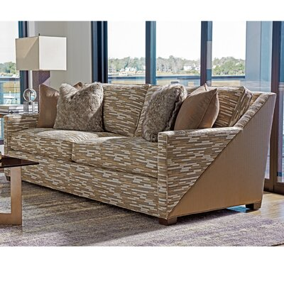 Zavala Wright Geometric Sofa with Contrast Outback
