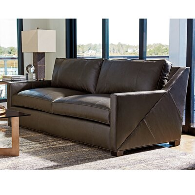Zavala Wright Leather Sofa