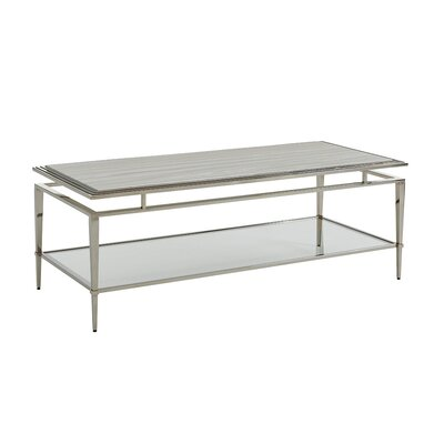 Ariana Athene Rectangular Coffee Table with Magazine Rack