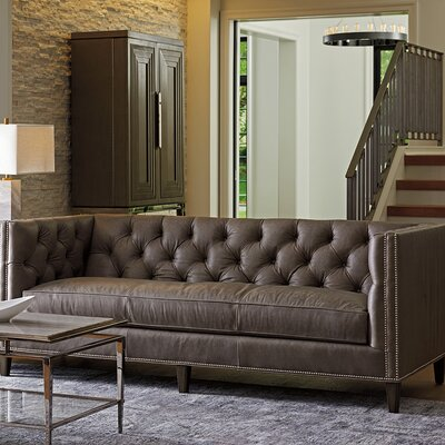 Ariana Monaco Leather Sofa