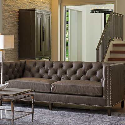 Ariana Camille Leather Sofa