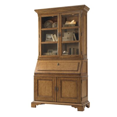 Cheap Lexington Twilight Bay Colette Buffet and Hutch Set in Distressed Warm Saddle Brown (LTN2023)