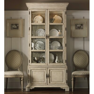 Cheap Lexington Twilight Bay Pierpoint Display Cabinet In Distressed  Textured Soft Taupe Gray (LTN1945)