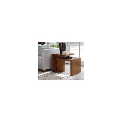 Kitano Cascade Rectangular End Table