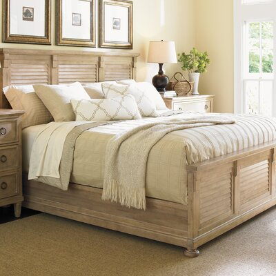 Monterey Sands Panel Bed Size: California King