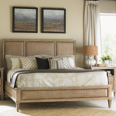 Monterey Sands Upholstered Panel Bed Size: California King
