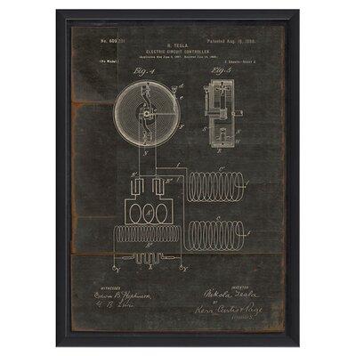 Tesla Framed Print 91678