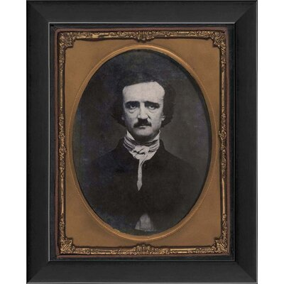 Edgar Allan Poe Framed Photographic Print 18545 EB