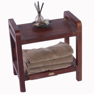 Decoteak Outdoor Teak Storage Bench Shelf Bookcase or End Table at Sears.com