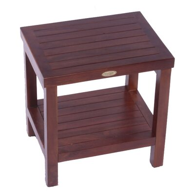 """Outdoors Side Table Table Size: 18"""" L x 13"""" W"""