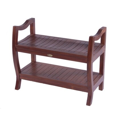 "Decoteak LiftAide Contemporary Teak Spa Shower Bench - Size: 30"" at Sears.com"