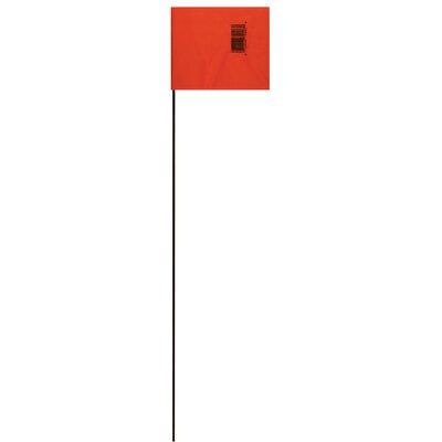21 Marking Flag (Set of 25) Color: Orange