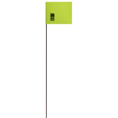 21 Marking Flag (Set of 25) Color: Green