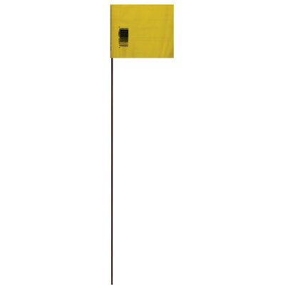 21 Marking Flag (Set of 25) Color: Yellow