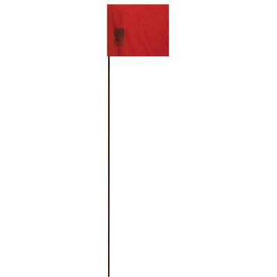 21 Marking Flag (Set of 25) Color: Red