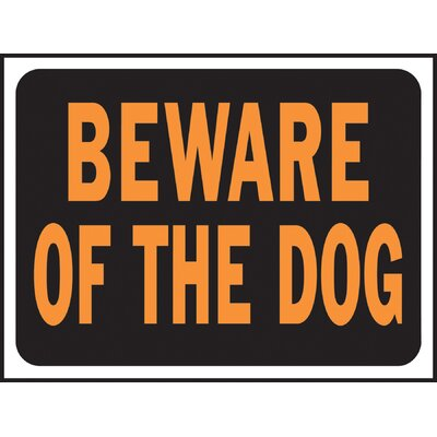 Beware of Dog Sign (Set of 10)