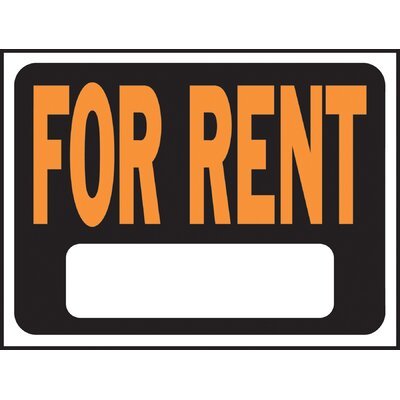 For Rent Sign (Set of 10)