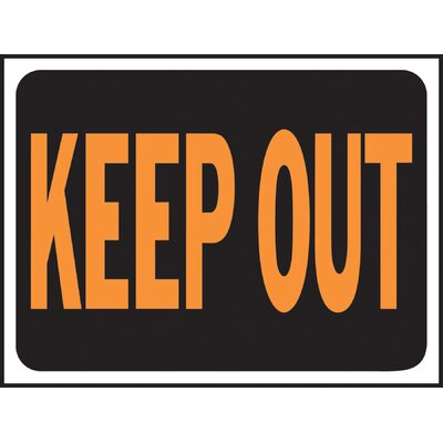 Keep Out Sign (Set of 10)