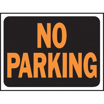 No Parking Sign (Set of 10)