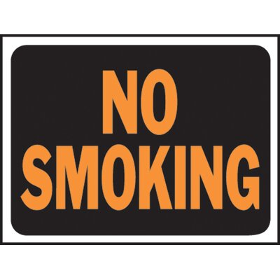 No Smoking Sign (Set of 10)