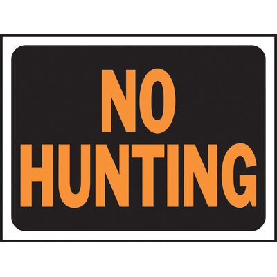 No Hunting Sign (Set of 10)