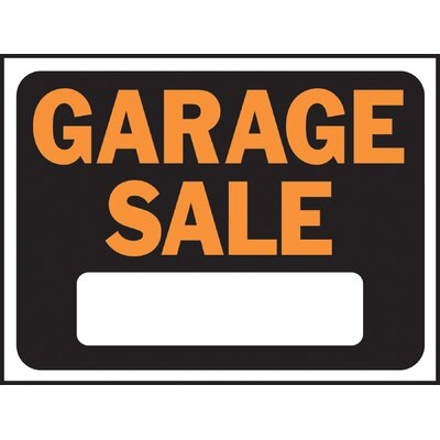 Garage Sale Sign (Set of 10)