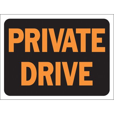 Private Drive Sign (Set of 10)