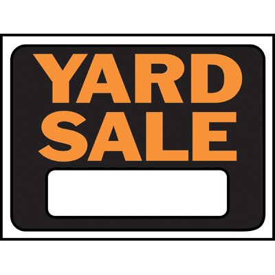 Yard Sale Sign (Set of 10)
