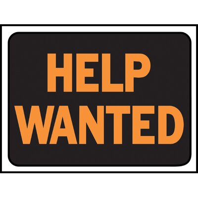 Help Wanted Sign (Set of 10)