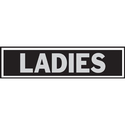 Ladies Sign (Set of 10)