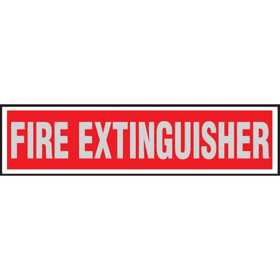 Fire Extinguisher Sign (Set of 10)