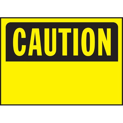Caution Sign (Set of 5)