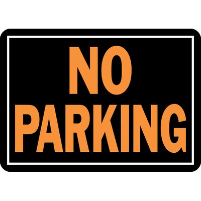 No Parking Sign (Set of 12)