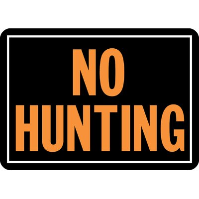 No Hunting Sign (Set of 12)