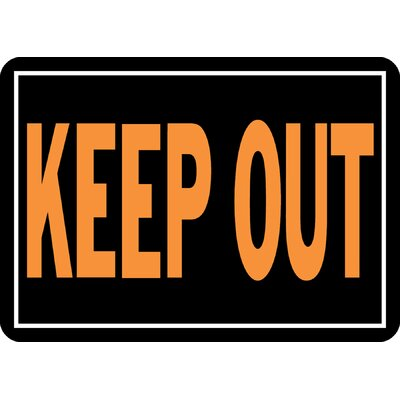 Keep Out Sign (Set of 12)